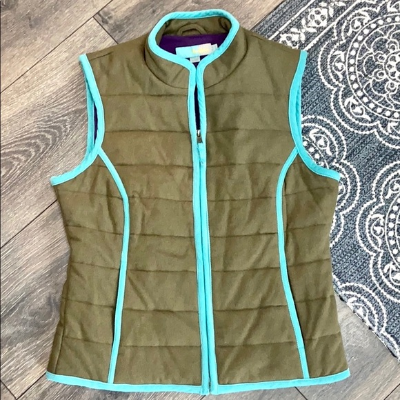 Boden Quilted Wool Vest